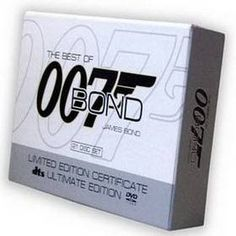 007 James Bond 22 Movie Complete Collection DVD Boxset at hctwo