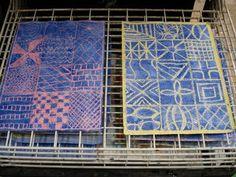 a faithful attempt: African art - Adire Style Wax Batik African Art For Kids, African Art Projects, Classe D'art, Wax Crayons, Art Lessons For Kids, Art Curriculum, Kindergarten Art, Middle School Art, Global Art