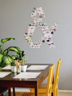 DIY Art Ideas | HGTV >> http://www.hgtv.com/design/decorating/design-101/8-easy-diy-wall-art-ideas-pictures?soc=pinterest