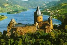 Rhine River, Germany. One of the most captivating trips I've ever taken...was down the Rhine River.