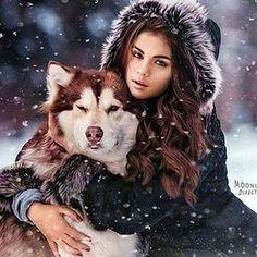 Selena gomez and marshmellow wolves