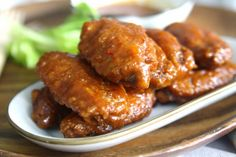 Yummy Recipes: Sweet and Sticky Hot Wings