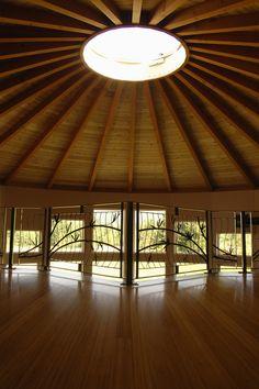 Small Space Living, Tiny Living, Round House Plans, Yurt Home, Yurt Living, Hawaiian Homes, Homestead House, Dome House, Beautiful Dream