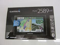 nice GARMIN NUVI 2589LMT 5 GPS Navigation System Bluetooth Lifetime Maps & Traffic - For Sale
