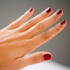 While gel nail polish is super convenient, when it comes time to take it off, those long-lasting effects can backfire. Let's be honest, typically you don't have the time to make the trek back to the