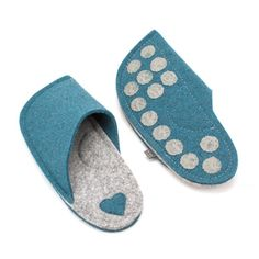 Engagement Gifts for Couple - Felt Slippers Felted Slippers, Mens Slippers, Engagement Gifts For Couples, Natural Rubber Latex, Just For You, Take That, Couple Gifts, Your Shoes, Customized Gifts
