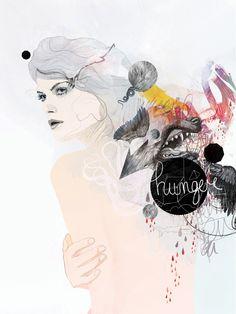 20 Exquisite Watercolour Illustrations | Caramel Ink