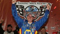 Cole Custer Gets Redemption with First Win at Phoenix | Fan4Racing  http://fan4racing.com/2014/02/28/cole-custer-gets-redemption-with-first-win-at-phoenix/  Cole Custer wins first K&N Pro Series West  race at Phoenix International Raceway on February 27, 2014  Photo - Todd Warshaw/Getty Images