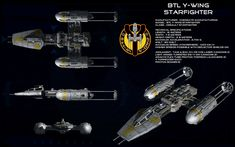 Y-Wing - Al MeerowWith extra art from Check out his gallery, there's some brilliant stuff there!!