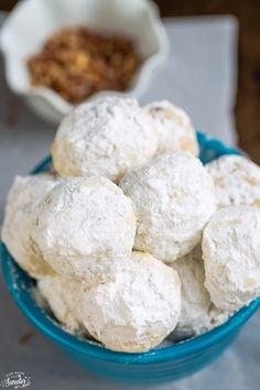 Classic Pecan Snowball Cookies are perfect for your holiday cookie platter. These snowballs are so easy to make & are the best with a glass of milk or tea.