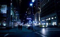 Şehir Sokak Gecesi Ücretsiz Duvar Kağıdı