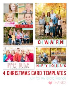 Free photoshop template - free referral card template for ...