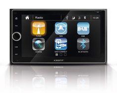 Xzent X 422 Infotainer 2 Din Mediencenter Multimediasystem Mit 16 5 Cm 6 5 Touchscreen Autoradio Mit Dab Bluetooth Usb Zum F In 2020 Autoradio Bluetooth Usb