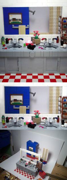 "LEGO - The Bathroom - ""What a girl wants"""