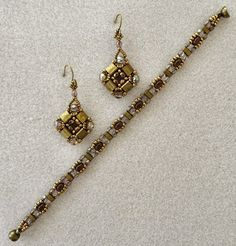 Linda's Crafty Inspirations: Layered Tila Earrings