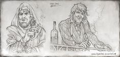 Father Chains - Sketches by kejablank.deviantart.com on @Deviantart