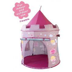 pop up tent roze met feeën
