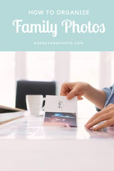 If you take a lot of family photographs then you need to read these tips! Helps you get and keep your family photos organized and get a good system in place. Click through to read and get organised!