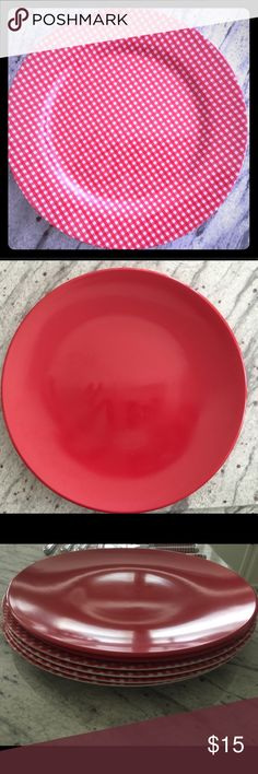 """SQUARE Paper Party Plates 7/"""" /& 9/"""" Plain Solid Colours Tableware Events Catering"""