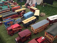 Fairground vehicles