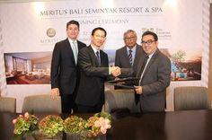 Meritus Hotels & Resorts Inks Management Deal to Operate Its First Resort in Bali, Meritus Bali Seminyak Resort & Spa