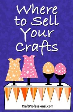 Plenty of Venues for Selling Crafts Ideas about where to sell your crafts Should you love arts and crafts you will enjoy this site! Craft Font, Craft Fair Displays, Display Ideas, Booth Ideas, Vendor Displays, Sewing Crafts, Diy Crafts, Pallet Crafts, Handmade Crafts