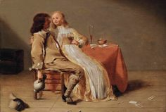 View Interieur mit Liebespaar by Jacob Jansz Jan van Velsen on artnet. Browse upcoming and past auction lots by Jacob Jansz Jan van Velsen. Elegant Couple, Dutch Golden Age, Artist Gallery, Delft, 17th Century, Art History, A Table, Amsterdam, Vans
