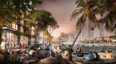 SOM Columbo Port City Masterplan, Sri Lanka
