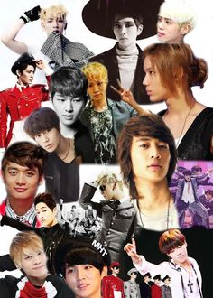 SHINee Collage Made By: Cheyenne Foster