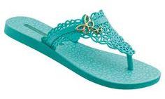 Color Azul Turquesa - Turquoise!!!  Flip Flop