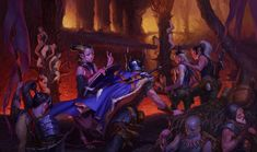 ArtStation - Two steps from hell, Evgeny Tumanis