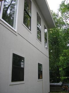 New 4x8 Smooth Hardie Panels For An Outdoor Patio Ceiling In San Antonio Tx Siding