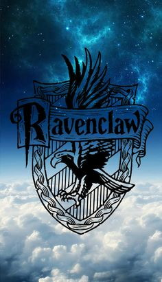 Hogwarts House Ravenclaw Phone Background Wallpaper Has Symbol Use Of Color