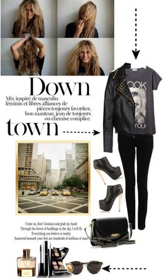 """New York City Girl"" by stylejournals ❤ liked on Polyvore"