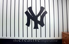 The Creative Imperative: Some Yankees and Nationals Baseball Murals Baseball Room Decor, Baseball Wall, Baseball Stuff, Man Cave Paintings, Teen Boy Rooms, Kids Rooms, Nationals Baseball, Murals For Kids, New York Yankees
