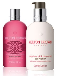 Molton Brown- in my guest bathrooms :)