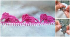 If you are unsure of how to crochet borders then you are in luck because we have some great crochet edging pattern for you. Of course have not only design and creative idea, we also have great video tutorial where you can learn everything that you need to know how to crochet elephant edging step by step in Spanish, But if you don't know Spanish you can use youtube's subtitles in English or in any Language. Imagine how creative and lovely will be your kitchen blankets with this beautiful and…