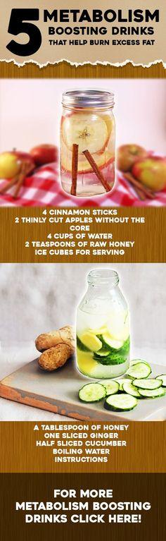 5 Metabolism-Boosting Drinks That Help Burn Excess Fat fat loss diet lemon Best Diet Drinks, Detox Diet Drinks, Fat Burning Detox Drinks, Fast Metabolism Diet, Metabolic Diet, Boost Metabolism, Quick Detox, Healthy Detox, Healthy Food