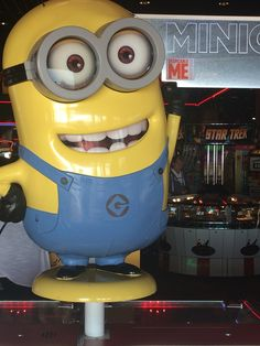 Love those funny yellow minions