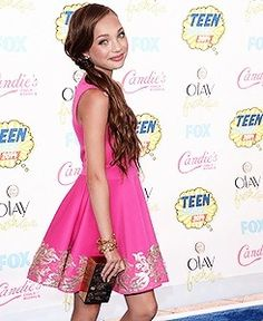 Maddie at the TCAs
