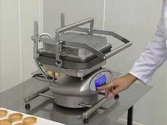 Bakon USA Bakery Equipment - Tartlet Machine - YouTube