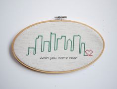 nice simple gift for a far away friend... we have something similar from friends