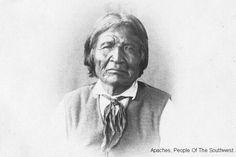Nana-Kastziden or Haskenadtltla, lasr free great lead of Chihenne, Warm Springs Apache