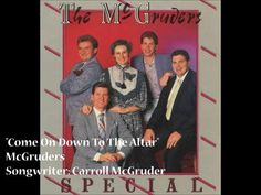"""""""Come On Down To The Altar"""" - McGruders (1987) - YouTube"""