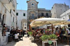Cisternino, main square