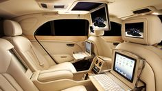 Bentley Mortors Mulsanne Executive Interior I understand we will soon be riding in the Bentley
