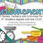Measurement - Unit Converter - Convert unit to unit - Measurement {Games Centers and Activities} Teaching Measurement, Measurement Activities, Teaching Math, Length Measurement, Learning Activities, Teaching Ideas, 4th Grade Math, Math 2, Math Games