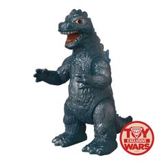 SpankyStokes.com | Vinyl Toys, Art, Culture, & Everything Inbetween: Toy Wars exclusive scaled-down Godzilla Bullmark s...