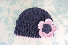 Free Pattern: Deeply Textured Hat - 6 Months. She has a ton of FREE hat patterns