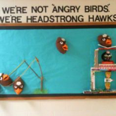 Angry Birds FCAT bulletin board